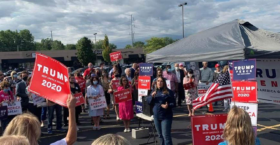 Chairman McDaniel at a MAGA Meet-Up in her home state of Michigan