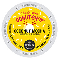 The Donut Shop Coconut Mocha Keurig®  K-Cup®  pods