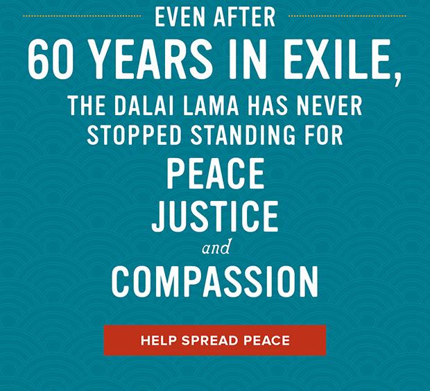 Help spread peace
