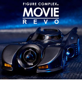 BATMAN 1989 FIGURE COMPLEX MOVIE REVO NO.009 BATMOBILE