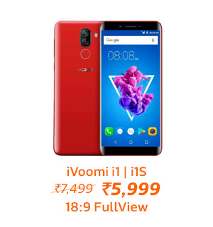 iVoomi i1 | i1s from Rs.5,999