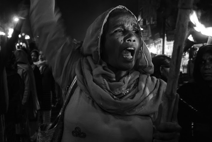 Bhopal protest, 2012