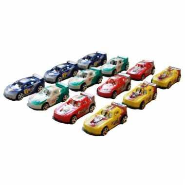 Speelgoed autootjes 12 stuks