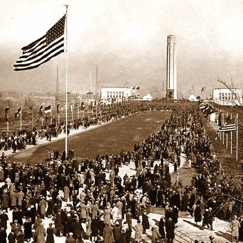 1926 Dedication of WWI Memorial in Kansas City, MO