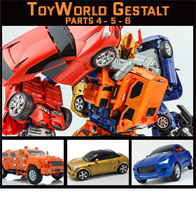 TOYWORLD GESTALT FIGURES