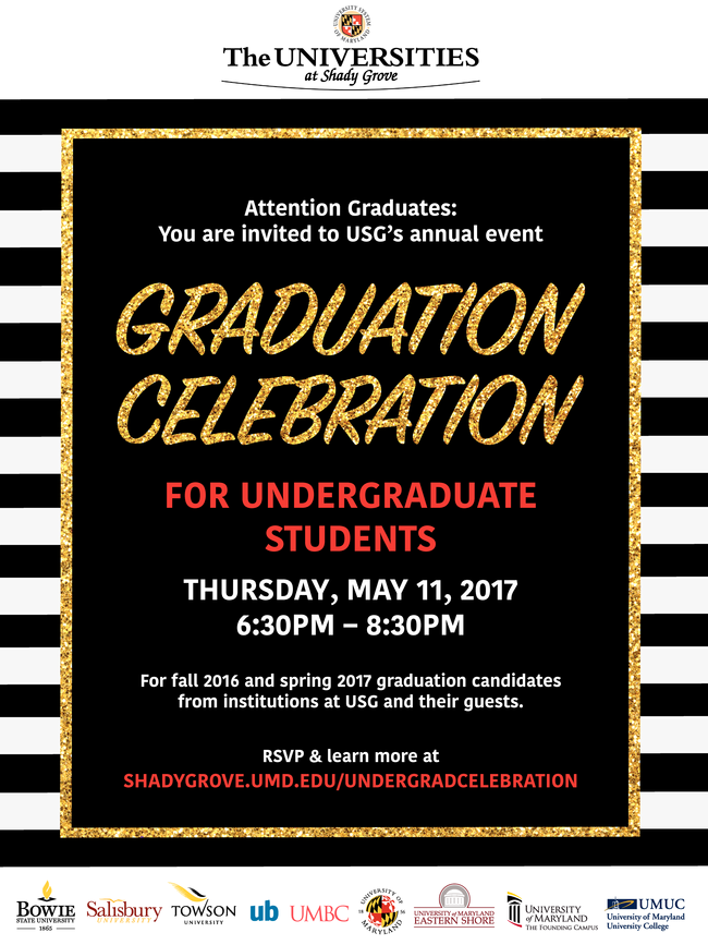 Graduation Celebration for undergraduates