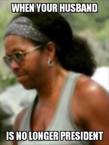Michelle Obama's Beastly Whiskers Photo Released by Q, Suggests Michael Robinson Has Given Up... A Sign of Cabal Surrender!