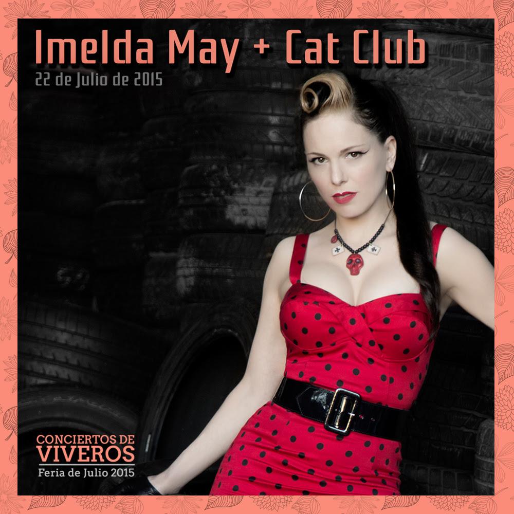 Concierto Imelda May en conciertos de viveros 2015