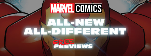 Marvel Comics - All-New All Different Marvel Previews