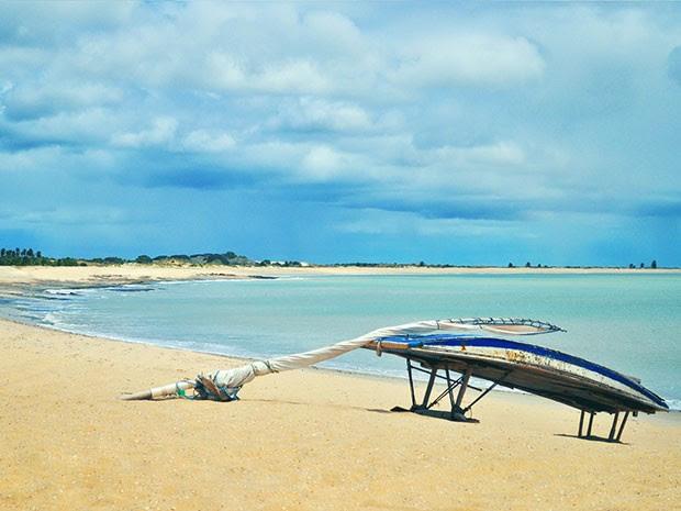 São Miguel do Gostoso, no litoral Norte potiguar, é um dos paraísos locais (Foto: Sarah Wollermann)