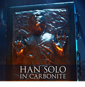1/6 SCALE HAN SOLO IN CARBONITE