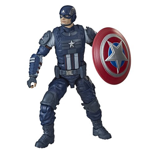 Image of Avengers Video Game Marvel Legends 6-Inch Captain America Action Figure (BAF Abomination) - MAY 2020