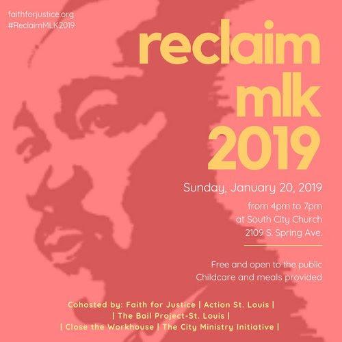 Reclaim MLK 2019