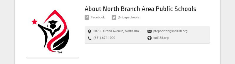 About North Branch Area Public Schools