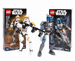 Star Wars Clone Commander Cody and Jango LEGO® Set