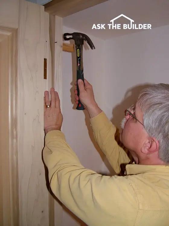 install a prehung door