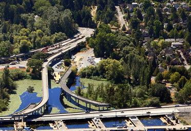 Lake Washington Boulevard off-ramp