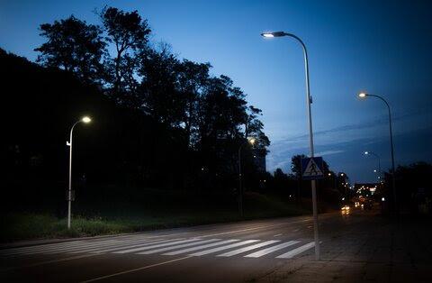 Energa Oświetlenie Smart przejście w Gdańsku.jpg