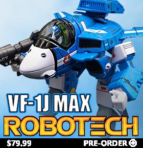Robotech SD VF-1J Max Figure