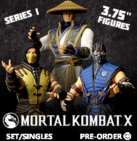 MORTAL KOMBAT X 3.75 INCH FIGURES