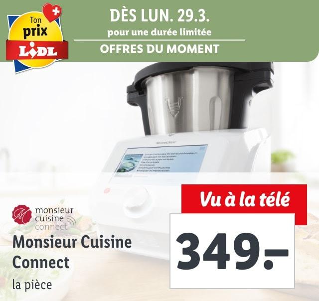 Dès 29.3. – Monsieur Cuisine Connect: seulement CHF 349.00