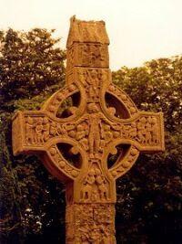 Krzyż celtycki z Irlandii