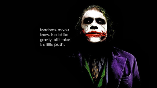 Quote from The Joker