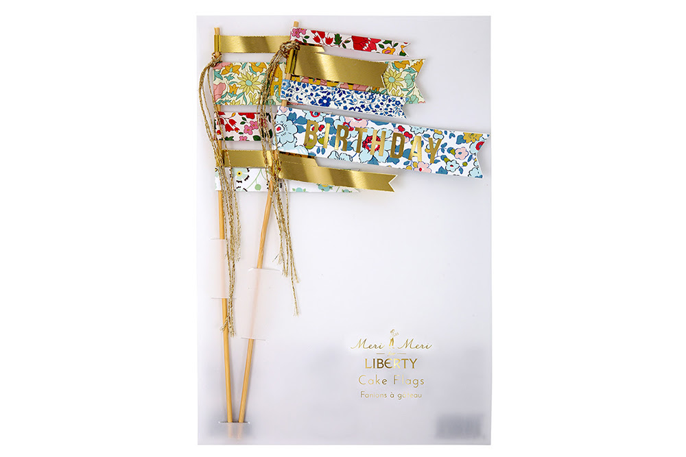 Pop Roc Parties Blog | Meri Meri Liberty Cake Flags