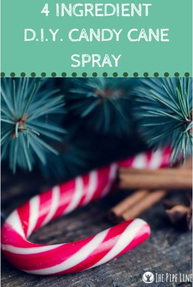 You're Going To Swoon Over This 4 Ingredient Candy Cane Spray