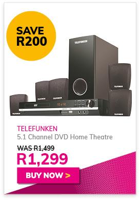Telefunken 5.1 DVD Home Theatre