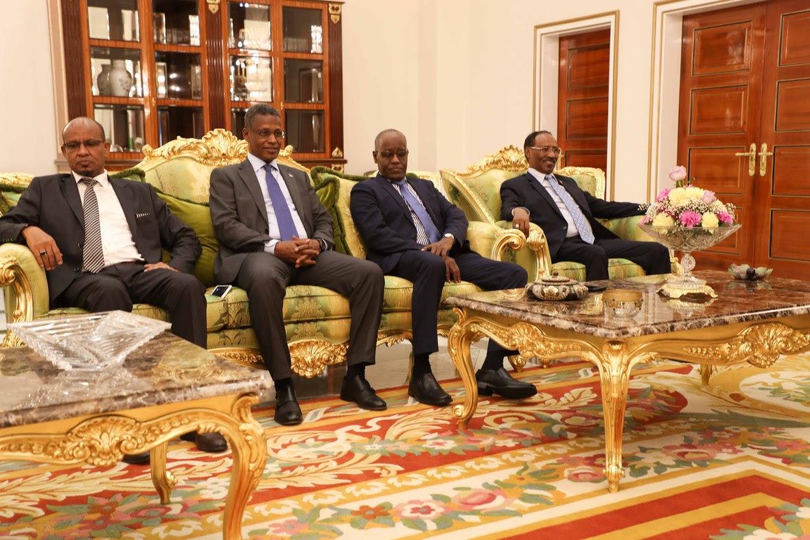 Madaxweynayaasha Somalia iyo Jabuuti oo kulmay-8