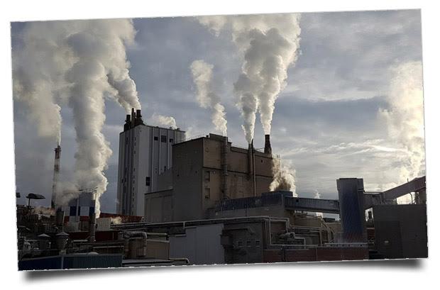 Contaminación atmosférica -#PonteEnVerde