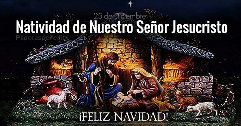 natividad de nuestro senor jesucristo feliz navidad