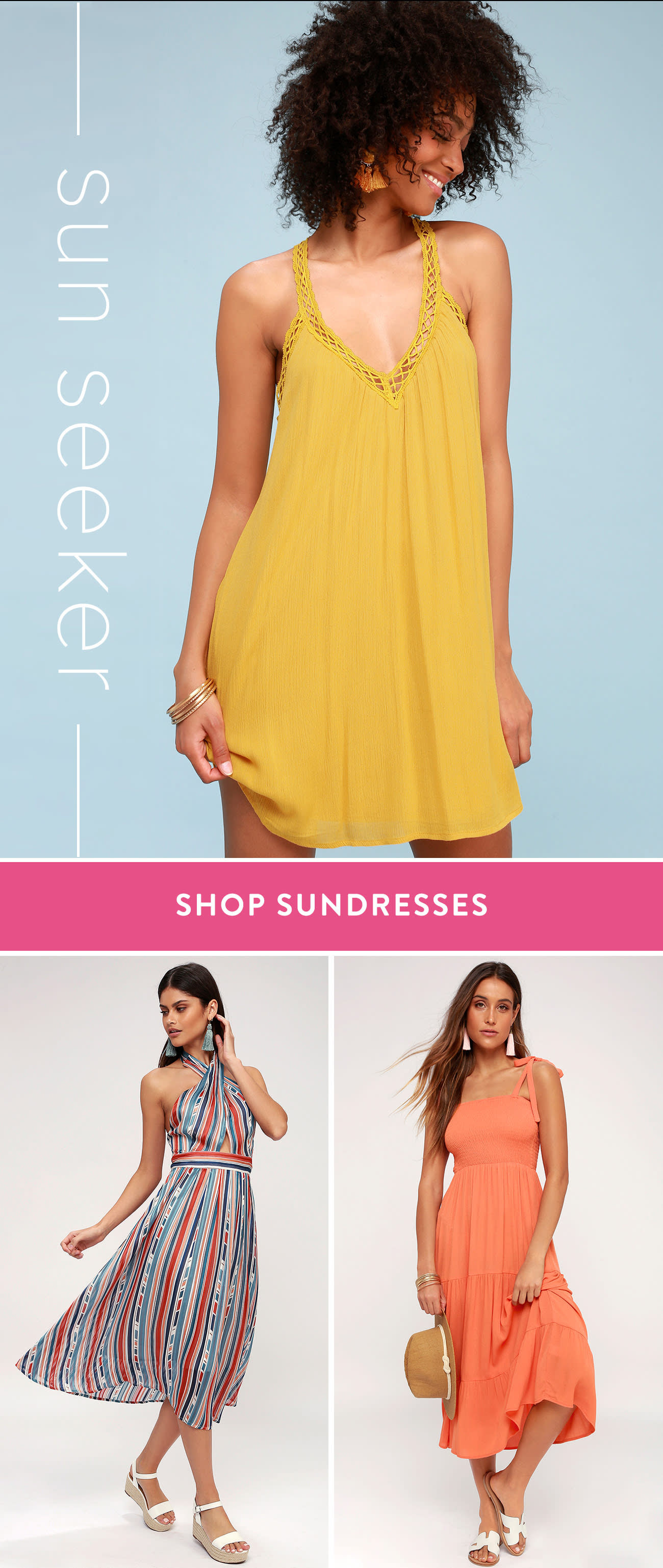 Sun Skeeer- Shop Sundresses!