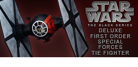 STAR WARS EPISODE VII BLACK SERIES DELUXE TIE FIGHTER