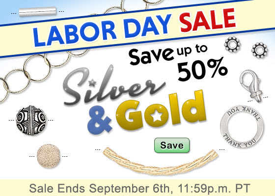 Labor Day BEAD Sale on Silver.