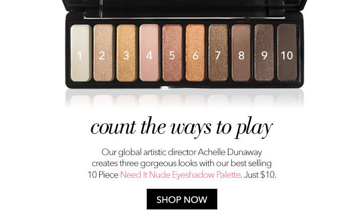 1 best-selling palette, 3 gorg...