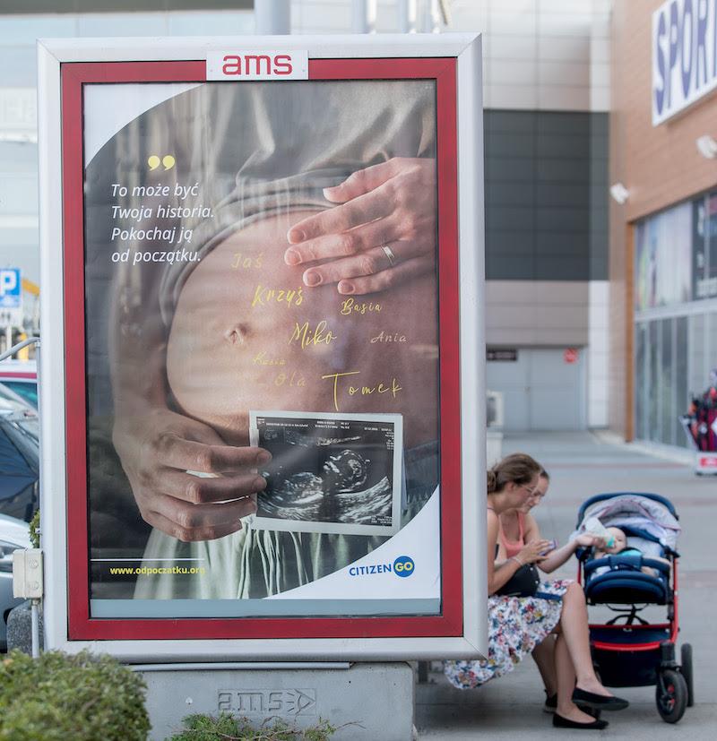 Tak, chcę wesprzeć CitizenGO, finansuję plakat na ulicy mojego miasta.