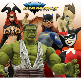 DIAMOND SELECT NEW PREORDERS