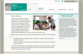 West Comprehensive Center Website