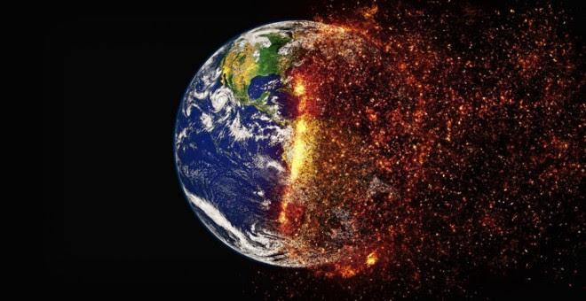Las consecuencias de este calentamiento global, ya poco o nada gradual, sino acelerado, las registramos con detalle, ocupan portadas en los periódicos y merecen profundos estudios científicos / Pete Linforth (Pixabay)