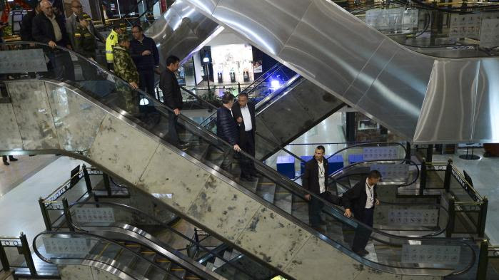 VIDEO. Colombie : trois morts, dont une Française, dans un attentat dans un centre commercial à Bogota