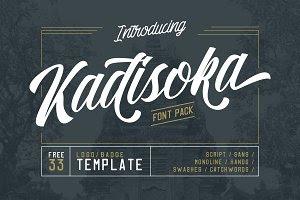 Kadisoka Font Pack (30% OFF)