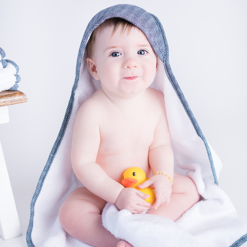 bamboo baby towel and washcloths