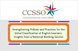 CCSSO Strengthening Policies