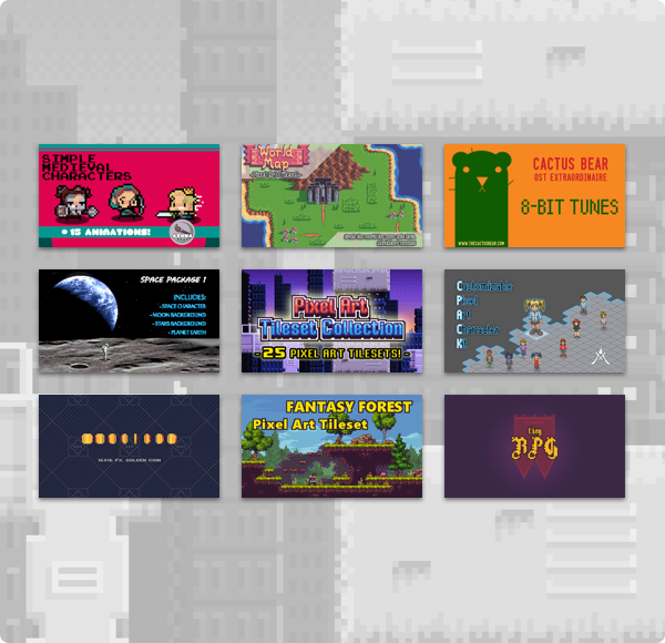 Humble 8-Bit Pixel Game Dev Bundle