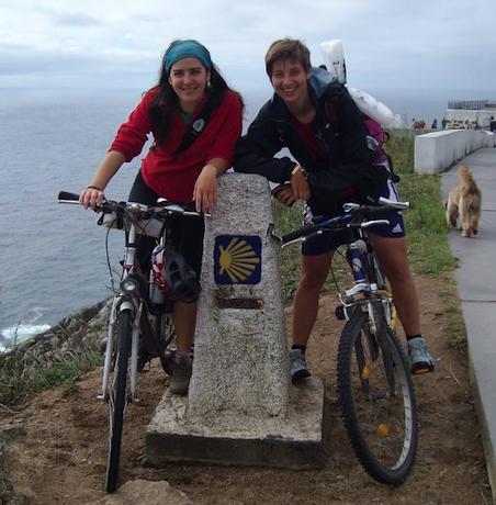 Transporte bicicletas camino de Santiago