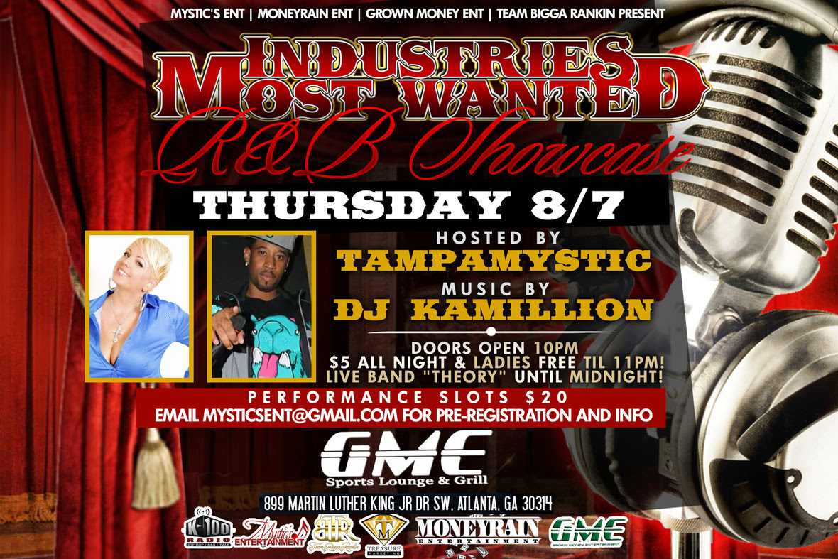 Tampa Mystic - IMW - RNB Showcase - 8-7