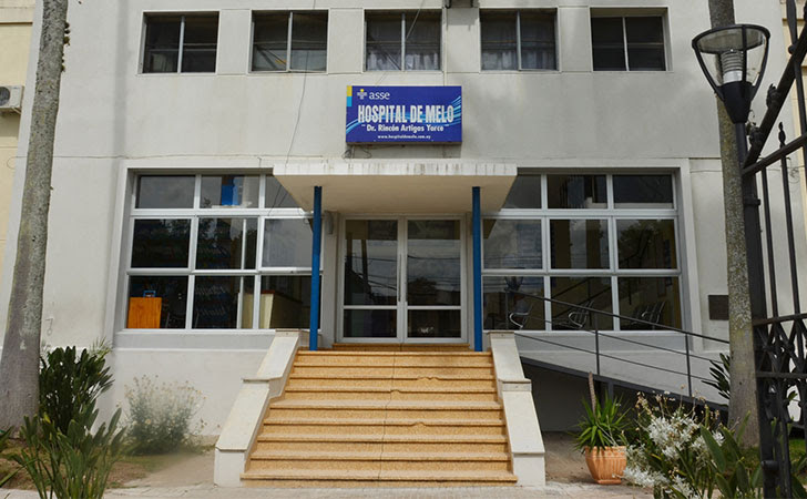 Hospital de Melo / Foto: ASSE