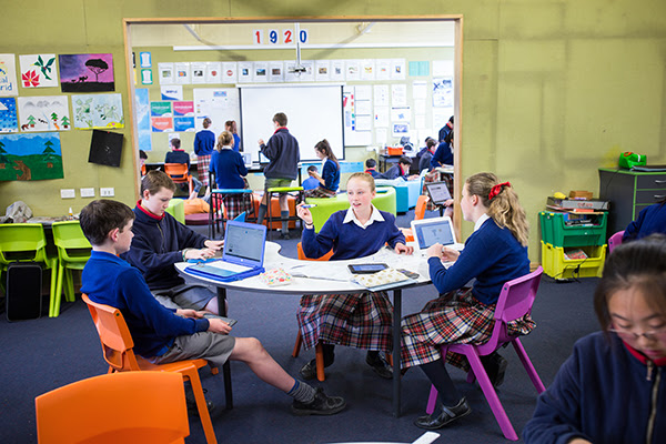 Innovative learning environment in action